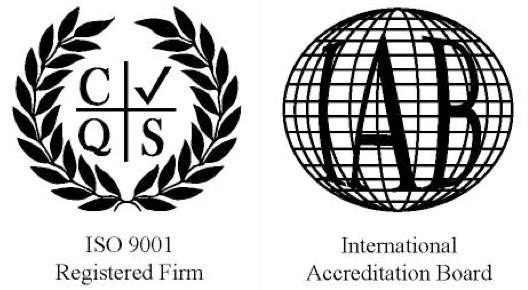 ISO 9001 Registered firm: Certificate number: GB2001221